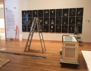 Accrochage du Spencer Art Museum ok Kansas